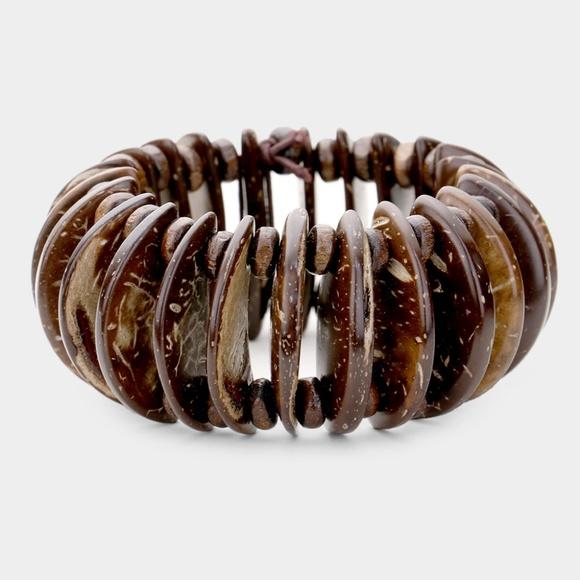 Jewelry - Wooden Stretch Bracelet